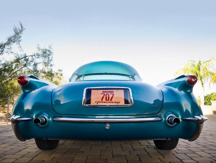 1954 Corvette with Plasticon Hardtop
