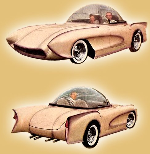 1955 Corvette Bubble Top Kustom-arama