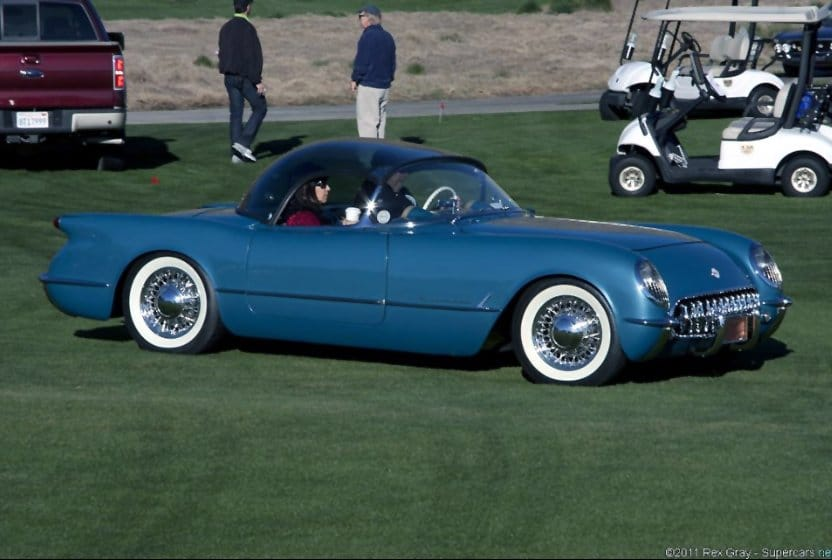 1955 Corvette with Plasticon Roof
