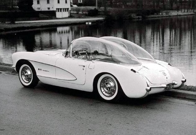 1956 Corvette Double Bubble Top
