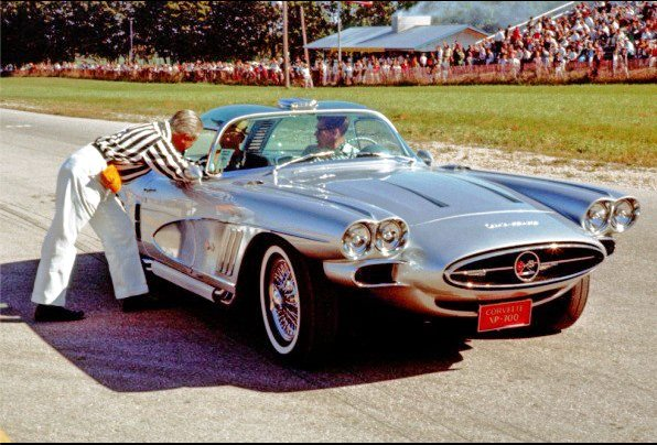 1959 XP-700 Corvette at Road America