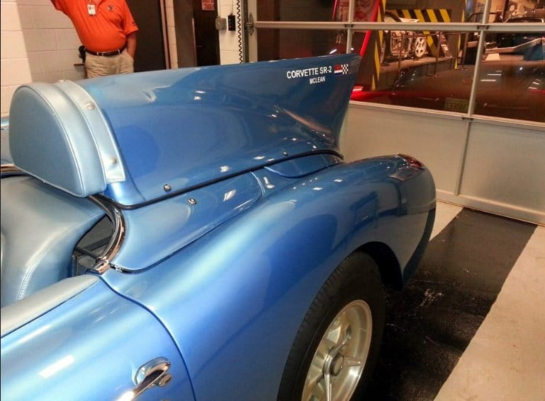 1956 SR2 Corvette at NCM Bob McLean Story