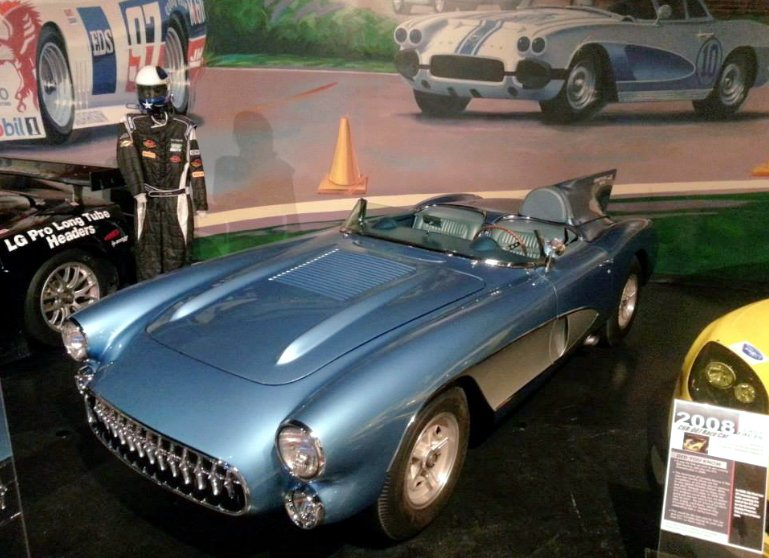 1956 SR2 Corvette at NCM