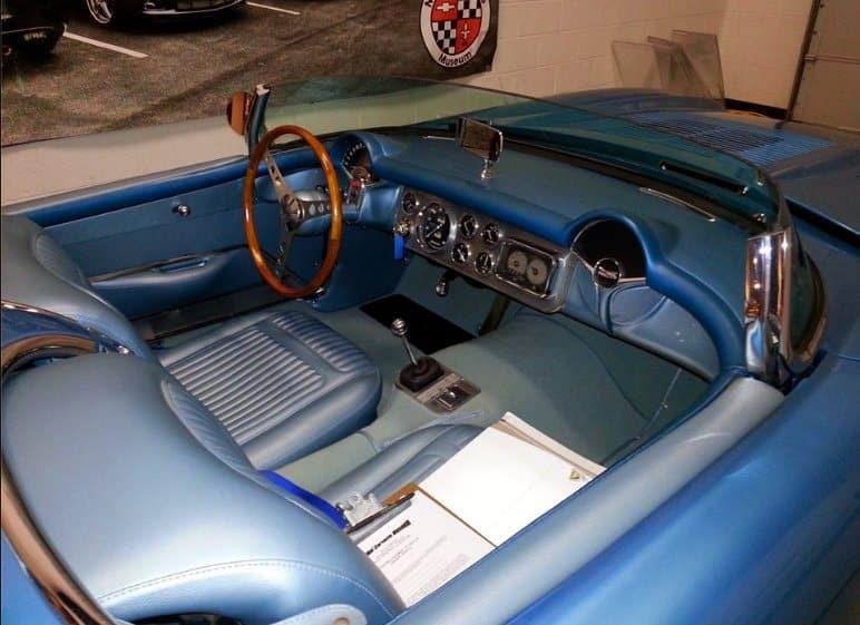 1956 SR2 Corvette at NCM Bob McLean Story