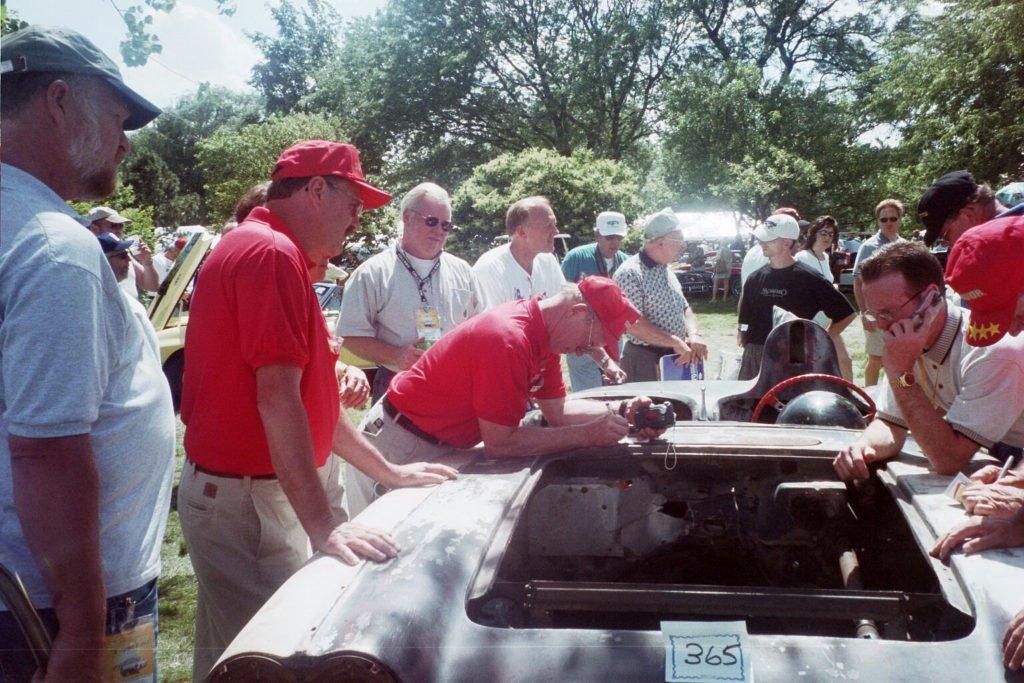 1959 James Erwin Drag Corvette with Big Fin
