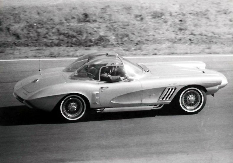 1958 XP-700 Corvette - Precursor to Mako Shark I