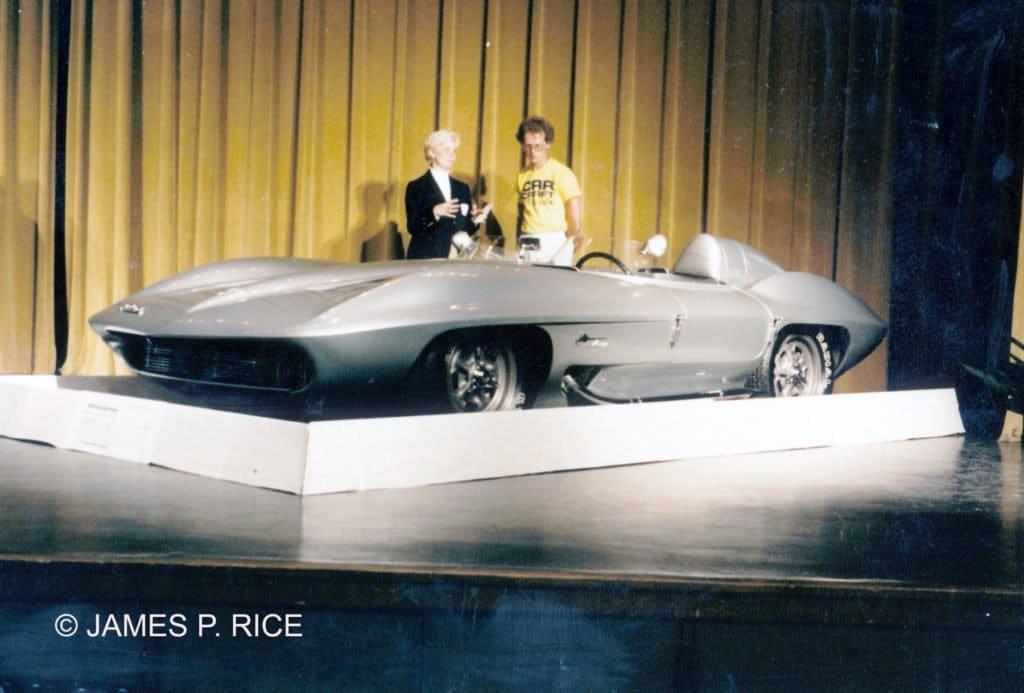 Corvette Stingray Racer at the 1985 Bloomington Gold Corvette Show