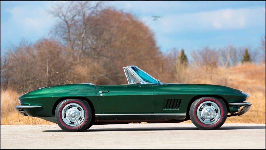 Most Valuable Player Award 1967 Corvette Goes to Auction