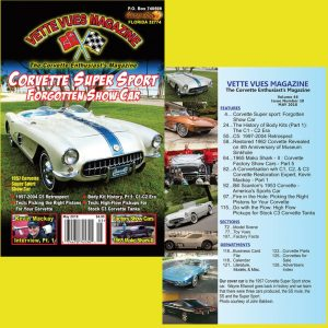 MAY 2018 ISSUE VETTE VUES MAGAZINE