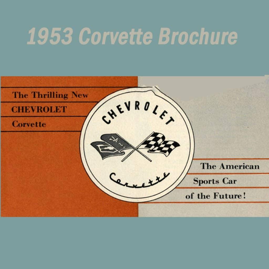 1953 Chevrolet Corvette Brochure