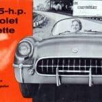 1955 Corvette Brochure