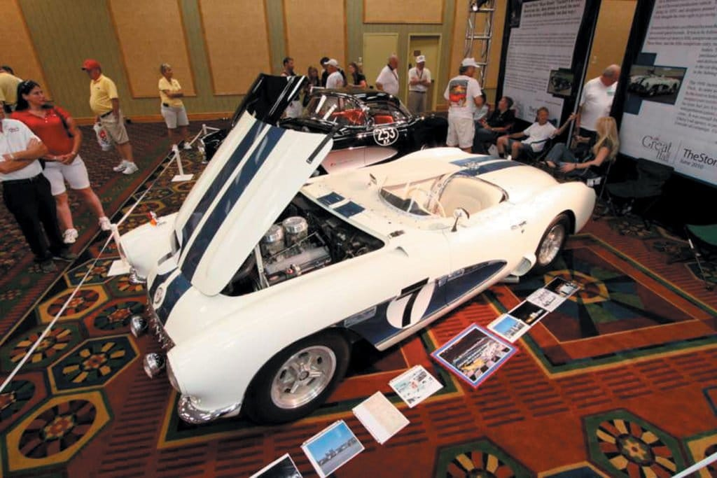 1956 Sebring Corvette Racer at the Bloomington Gold 2010 Great Hall