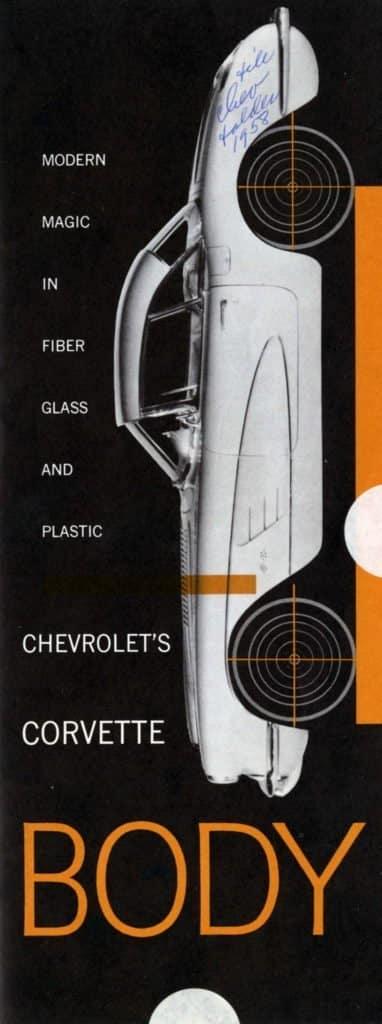 1958 Corvette Brochures