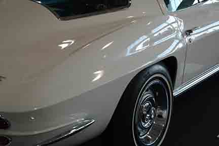 1967 Corvette NO3 Big Tank from the Richard Cohen's Collection going to the 2018 Mecum Auction Indy. It is on display Bloomington Gold Collection in 2017. Photo Credits: Jack Doke