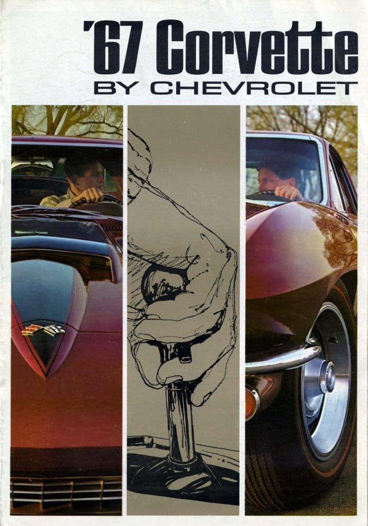 1967 Corvette Sales Brochure
