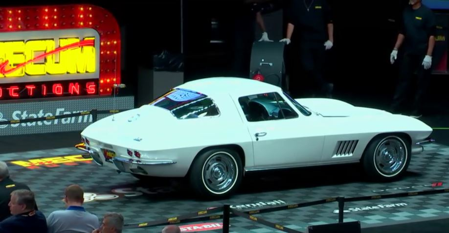 Vette Vues Magazine | Corvette Auction Results Mecum Indy