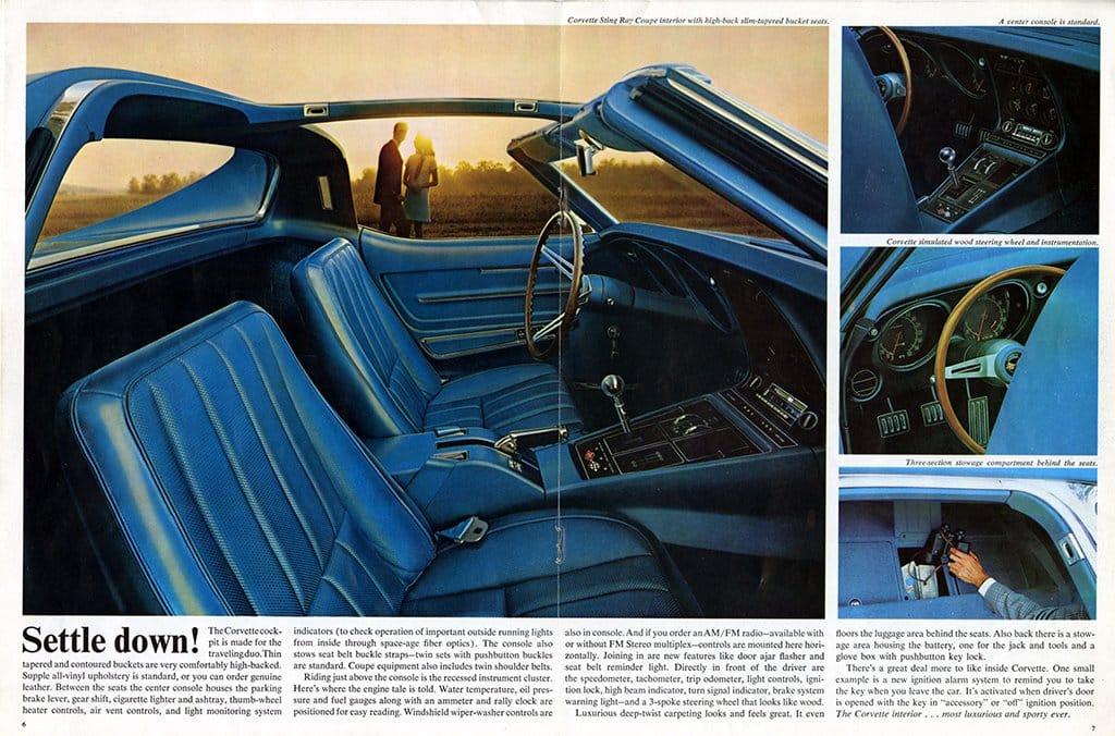 1968 Corvette Brochure