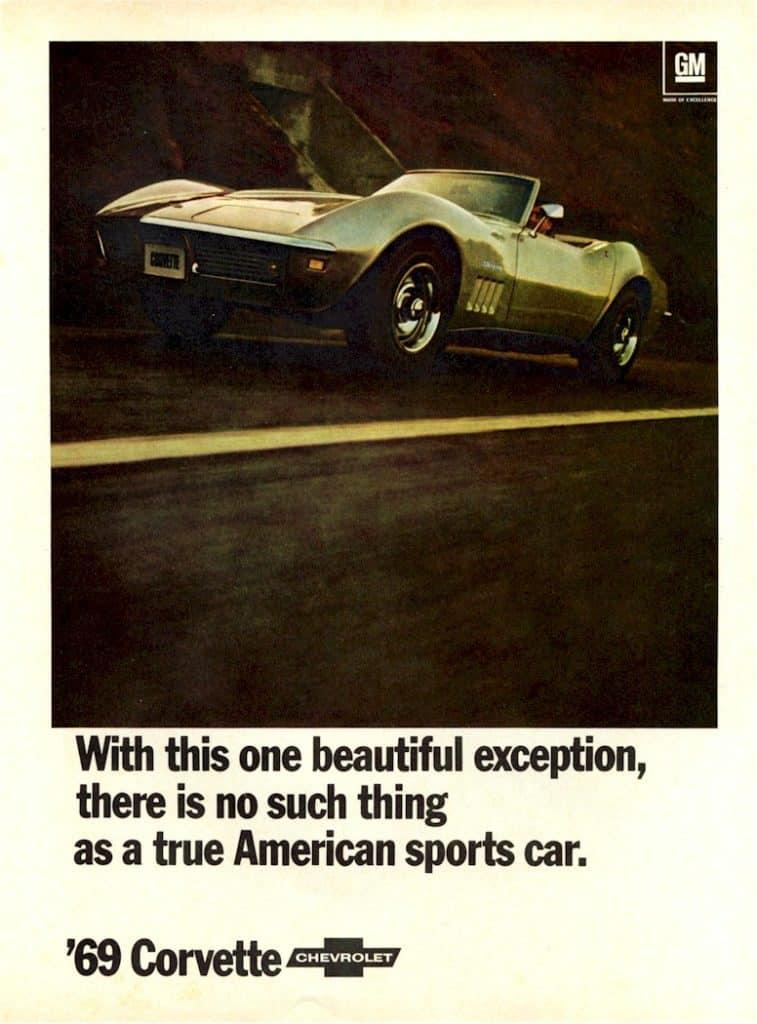 Vette Vues Magazine | 1969 Corvette Advertisements1969 ...