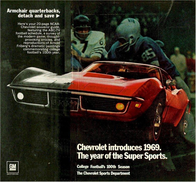 1969 Corvette Ads