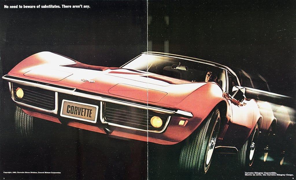 1969 Corvette Brochure