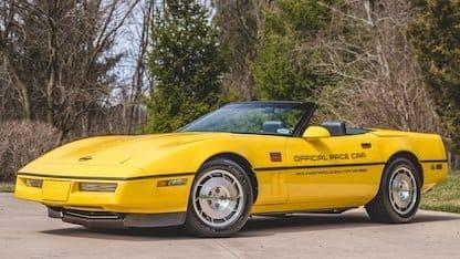 1986 Corvette Pace Car Edition at 2018 Mecum Indy