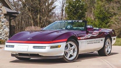 1995 Corvette Pace Car Edition at 2018 Mecum Indy