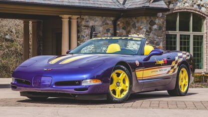 Corvette Convertible to Pace Indy 500 in 1998