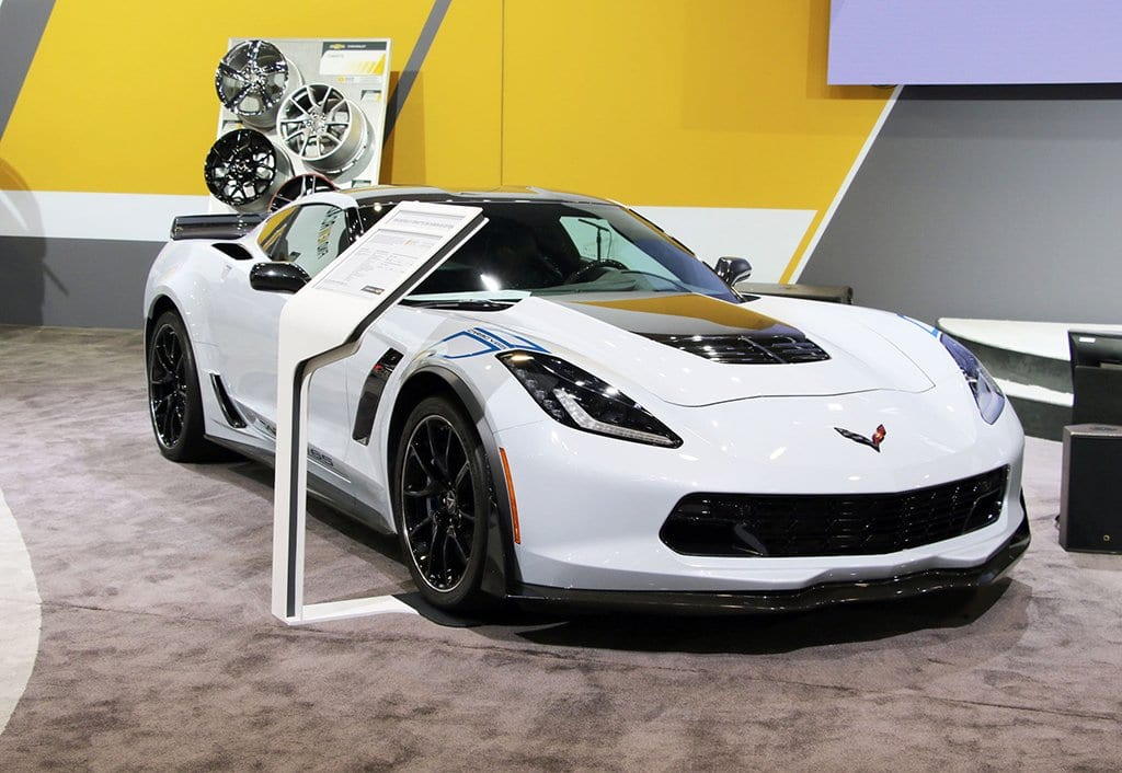 2018 Z06 Carbon 65 Edition Corvette at SEMA 2017