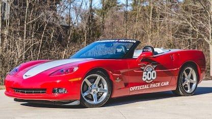 2005 Corvette Pace Car Edition at 2018 Mecum Indy
