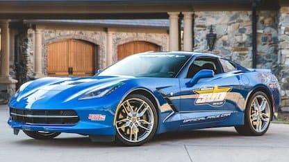 2014 Corvette Pace Car Edition at 2018 Mecum Indy