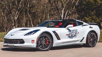 2015 Corvette Pace Car Edition at 2018 Mecum Indy