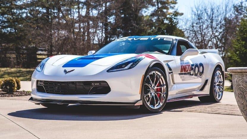 2017 Corvette Pace Car Edition at 2018 Mecum Indy