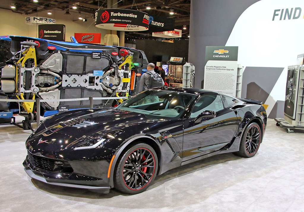 Corvette with Magnetic Ride Suspension Calibration Upgrade