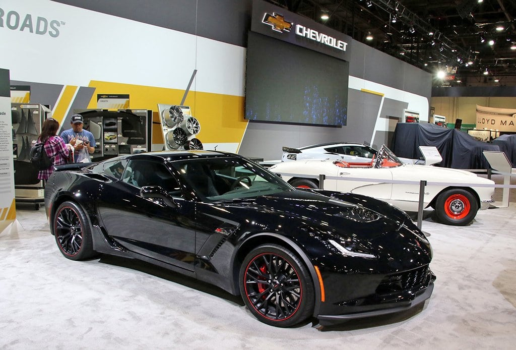 Corvette with Magnetic Ride Suspension Calibration Upgrade