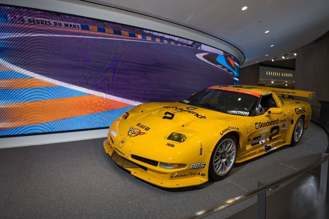New GM World Display Celebrates Racing Heritage