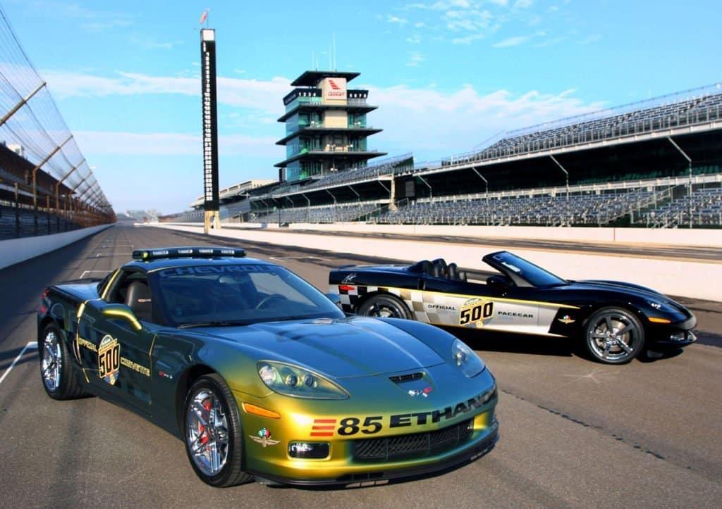 Chevrolet Unveils Two Unique '08 Corvette Indy 500 Pace Cars