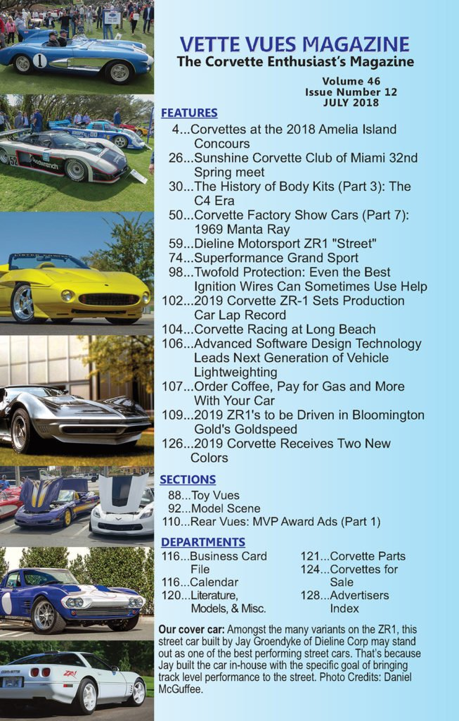 Vette Vues Magazine July 2018 Articles