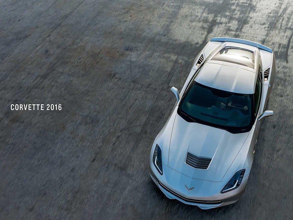 Cover of the 2016 Corvette Brochure