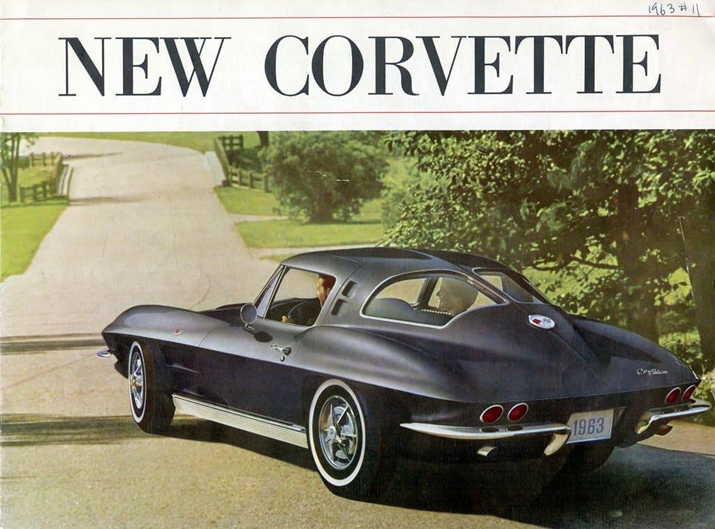 1963 Corvette Brochure