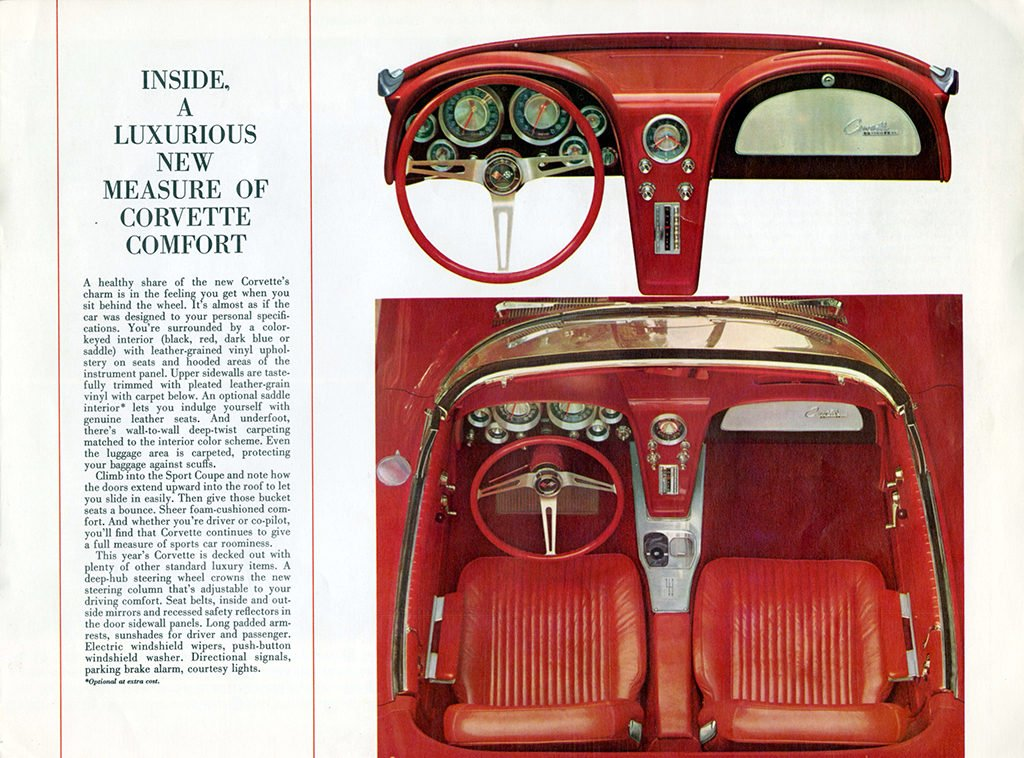 1963 Corvette Brochure Page 5