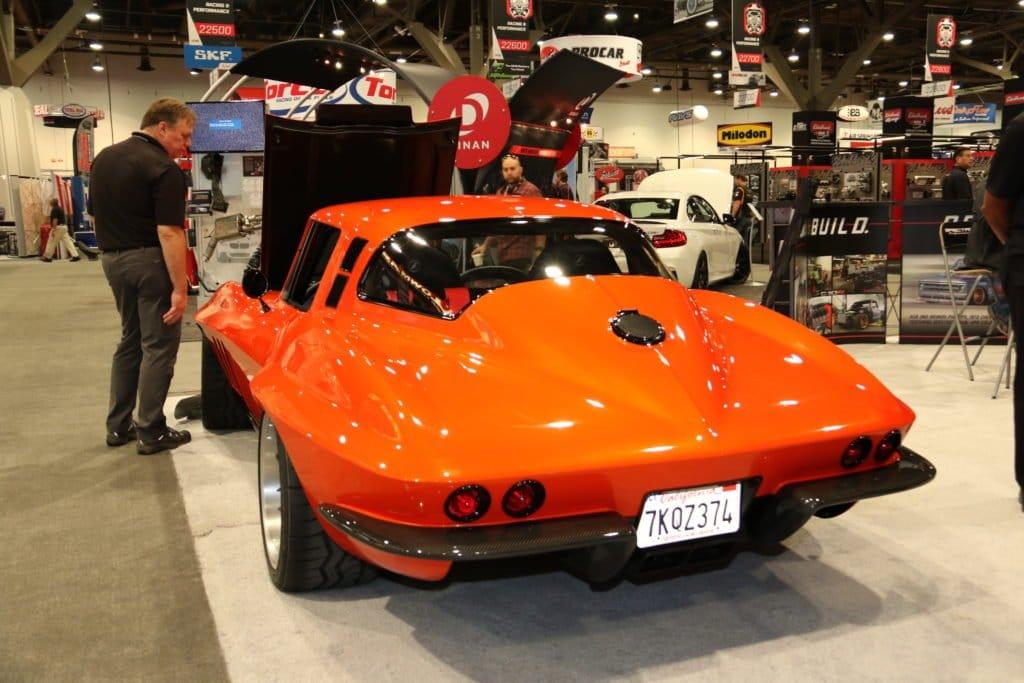 C2 Corvette with Wild Flares