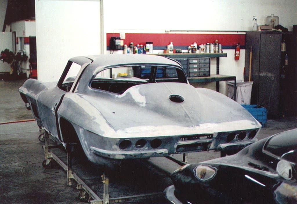 1967 FSO Corvette Under Restoration