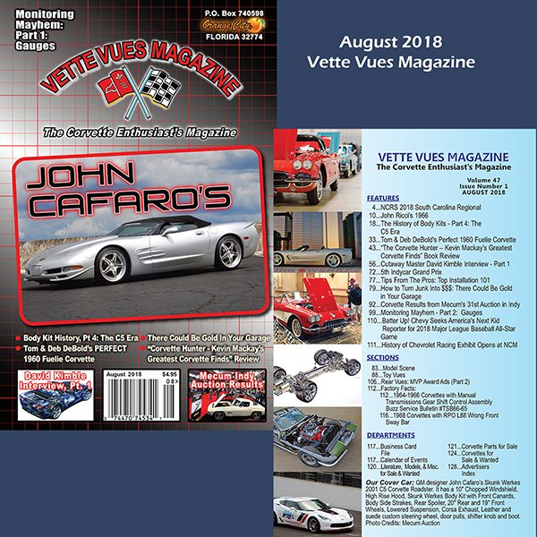 August 2018 Issue Preview Vette Vues Magazine
