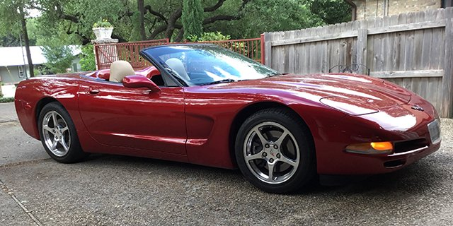 1999 Corvette Convertible for Sale. Always garaged, every option, 11,000 original miles! Red tint coat with oak leather, sticker price was $50,000. Offered at $18,500. Richard, San Antonio, TX 210-530-0423