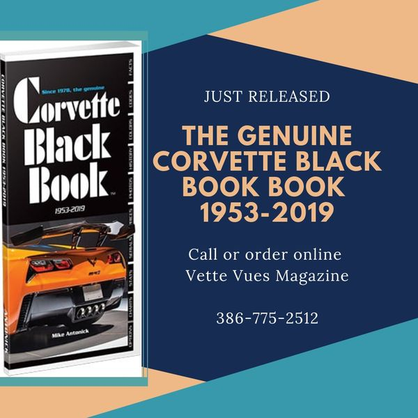History of the Corvette Black Book