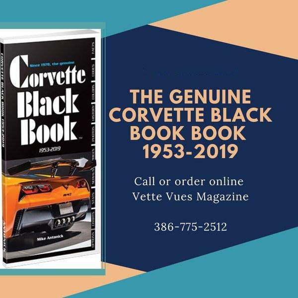 The Genuine Corvette Black Book 1953-2019