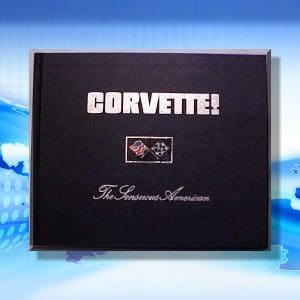 Mike's first book(s) was a series of nine hardbound Corvette books called Corvette! The Sensuous American.