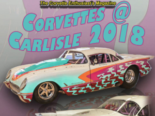 Cover of the December 2018 Issue Vette Vues Magazine