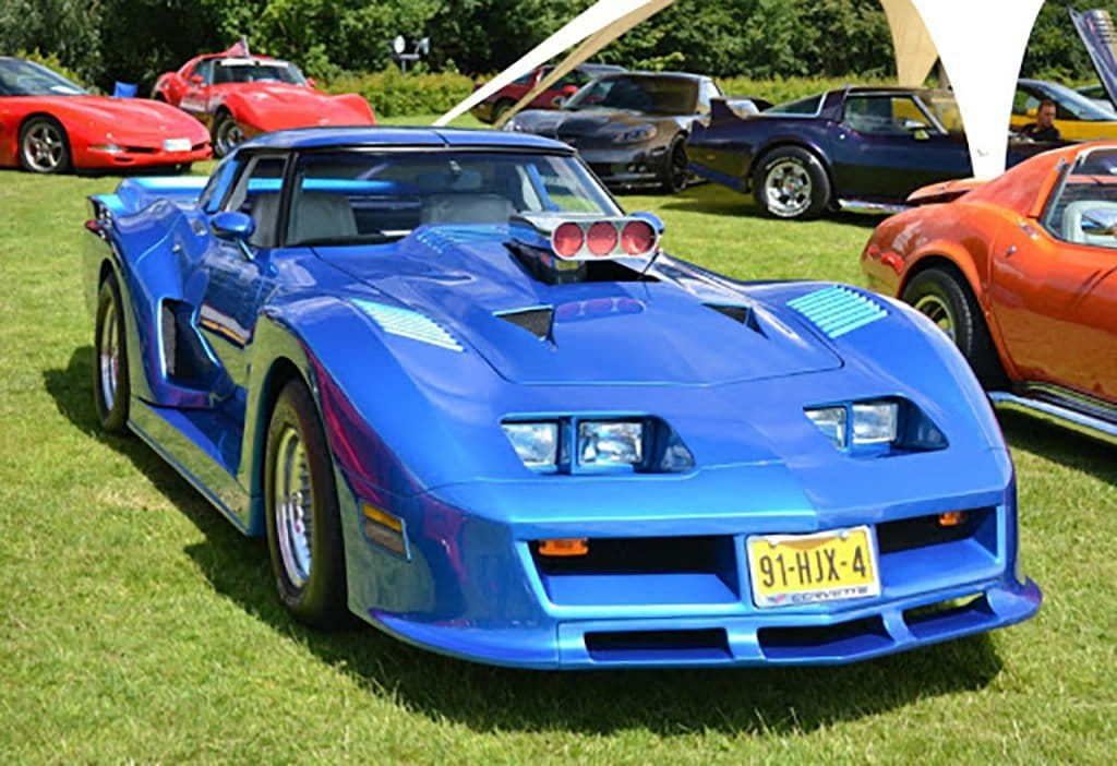 Honorable mention in our Corvette Show Car Online Contest:  Martin Spit's 1981 Corvette Daytona from The Netherlands.