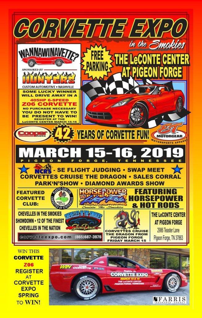 Corvette Expo Tennessee 2019